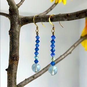 ✨earrings✨ mixed blue design